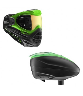 Combo: Axis Goggle Lime + LT-R Loader Lime