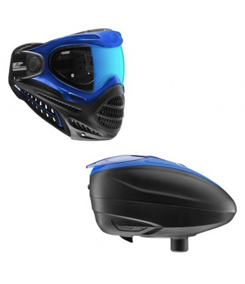Combo: Axis Goggle Blue + LT-R Loader Blue