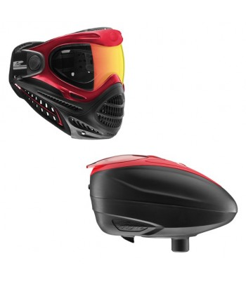 Combo: Axis Goggle Red + LT-R Loader Red