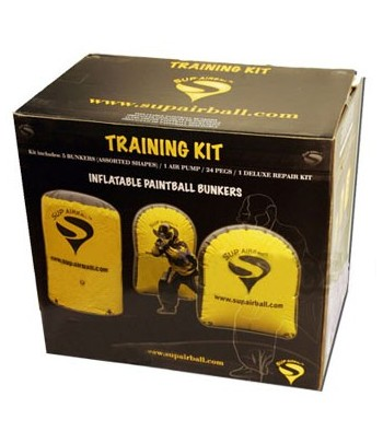 Sup'Airball Archery Training Kit - 5 Bunkers