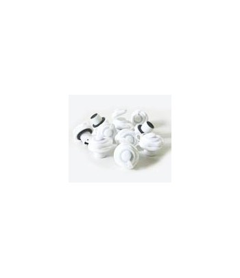 Sup'Airball Boston Plugs Pack (10 White Plugs)
