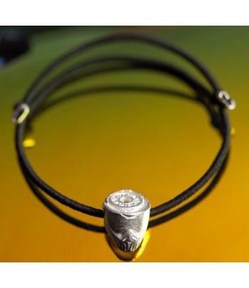 Nano Helm - Silver Plated Bracelet