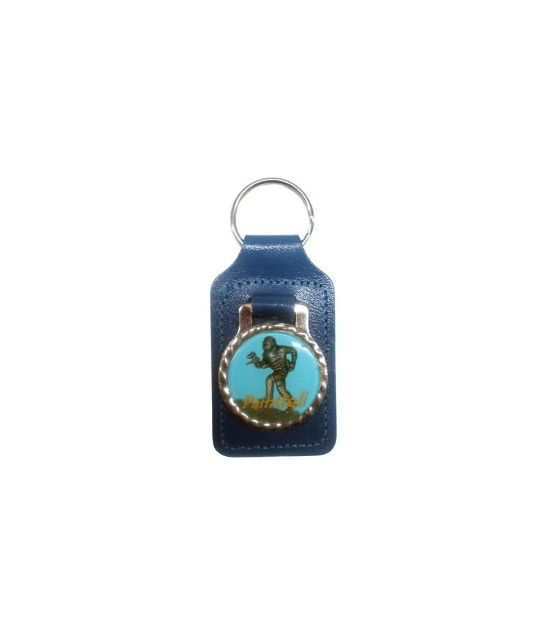 Paintball Keychain with Medal