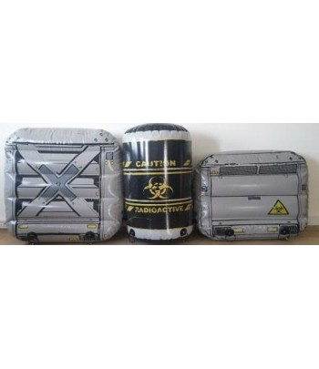 Metal Crate Kit 3 Bunkers with Water Bladders