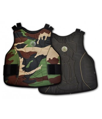 Buddha Chest Vest Reversible