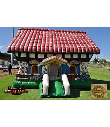 Used Crazy House Inflatable