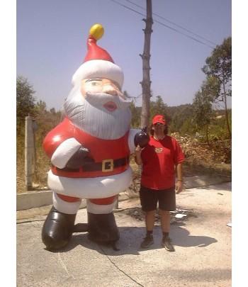 Insuflável Pai Natal