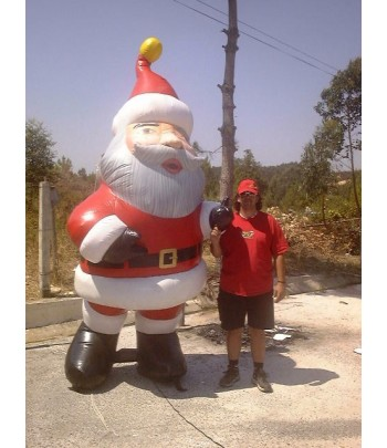 Used Giant Santa Claus Inflatable