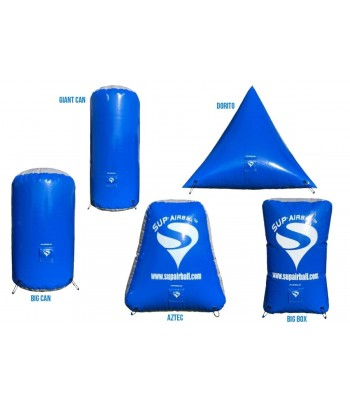 Sup'Airball 2Man Training Kit - 5 Bunkers