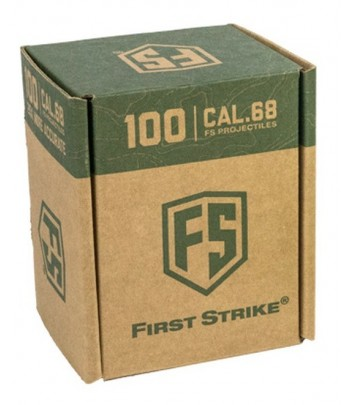 First Strike Paintballs 100 round Box