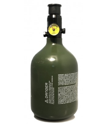 Totem Air System 0.4L/26ci 3000psi π CE Aluminum Tank & Preset