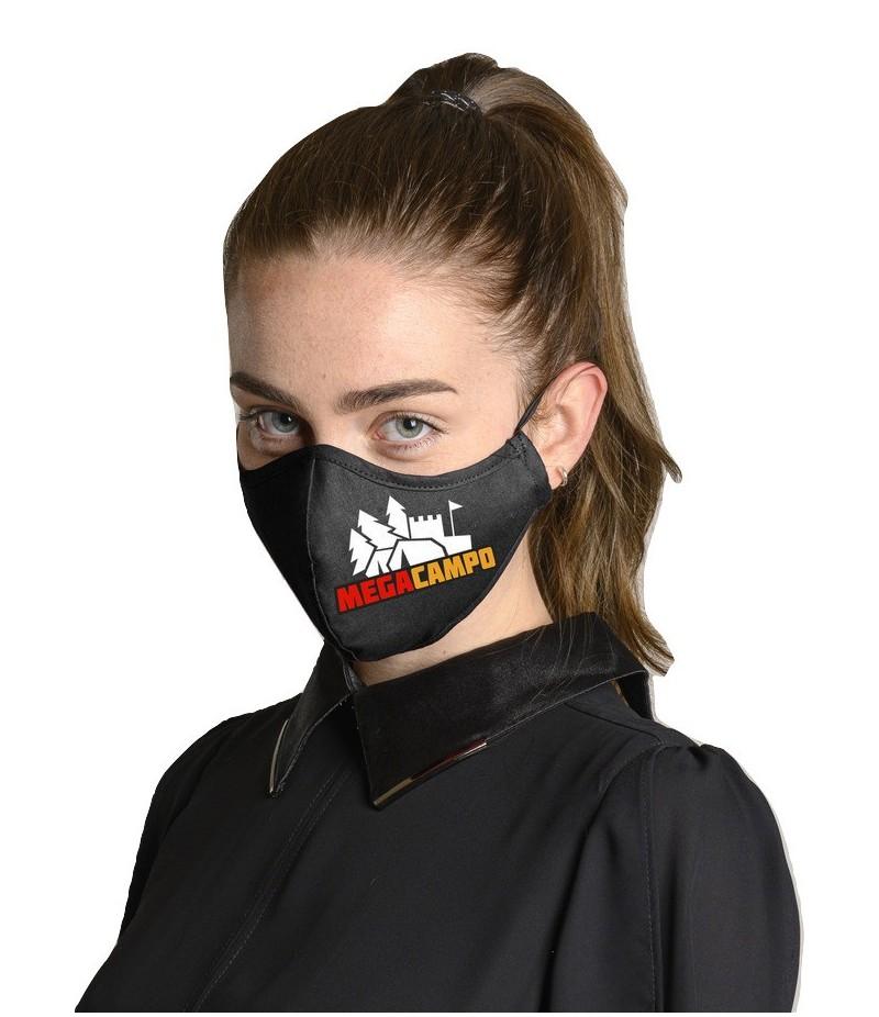 Megacampo Triple Layer Reusable Face Mask