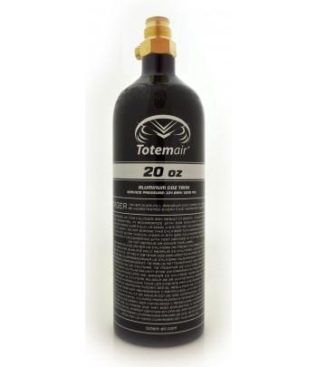 Totem Air 20 Oz Pi Bottle + Pin Valve
