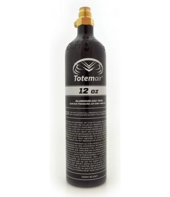 Totem Air 12 Oz Pi Bottle + Pin Valve