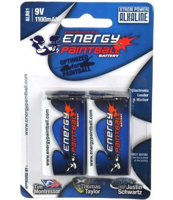 Energy Paintball 9V Pack 2...