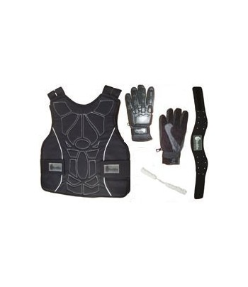 Equipment Upgrade Kit - Chest Vest, Gloves, Neck cover, Redz Swab